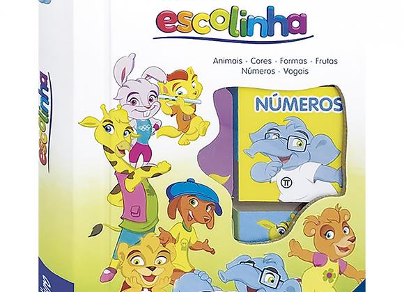 ESCOLINHA BOX C/6 UND: MINHA PRIMEIRA ESCOLINHA