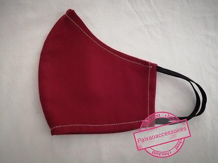 Vermelha - Máscara GG (ADULTO)