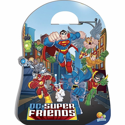 DC SUPER FRIENDS - KIT C/08 UND. -  + CD | Mala especial