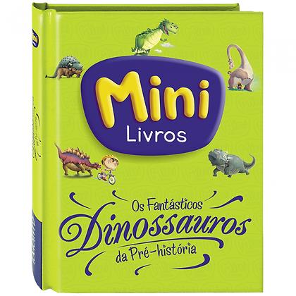 Os fantásticos dinossauros da pre-historia (MINI LIVROS)