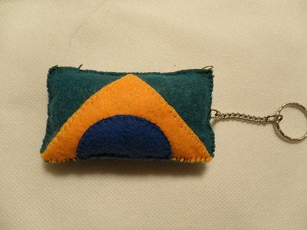 Bandeira do Brasil - Chaveiro