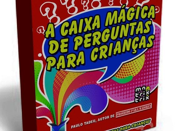 Acaixa mágica de perguntas para crianças