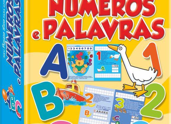 Meu primeiro livro para aprender Números e Palavras