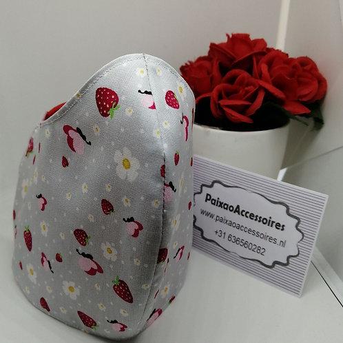 Moranguinho - Máscara (ADULTO) higiênica anatômica