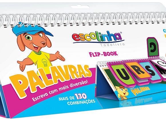 Flip book - ESCOLINHA FB - COMBINACOES DIVERTIDAS: PALAVRAS