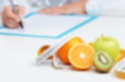 consulta com nutricionista