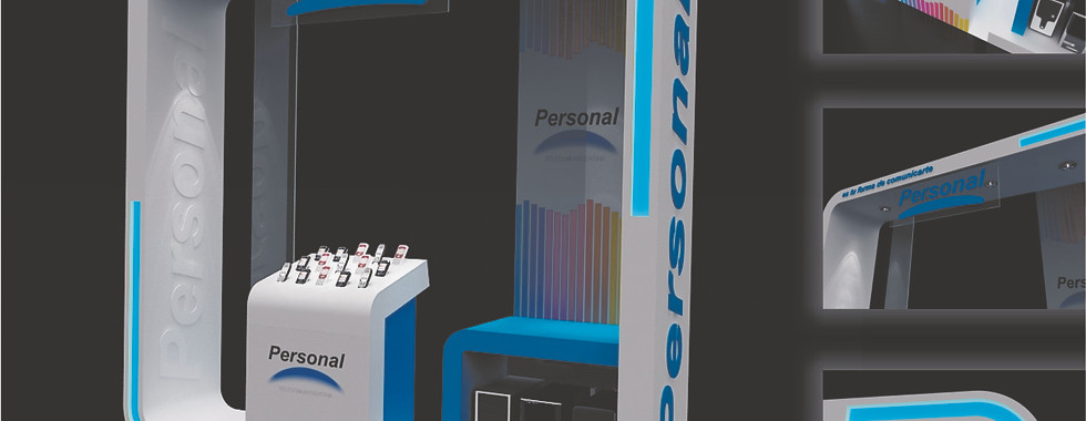Stand POP para Personal