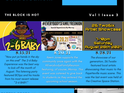 SEPTEMBER BLOCK IS HOT NEWSLETTER IS NOW AVAILABLE
