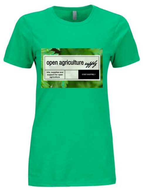 Open Agriculture Supply T-Shirt - Womens