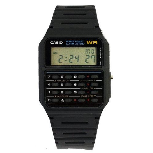 Casio CA53W-1 Digital Calculator Watch