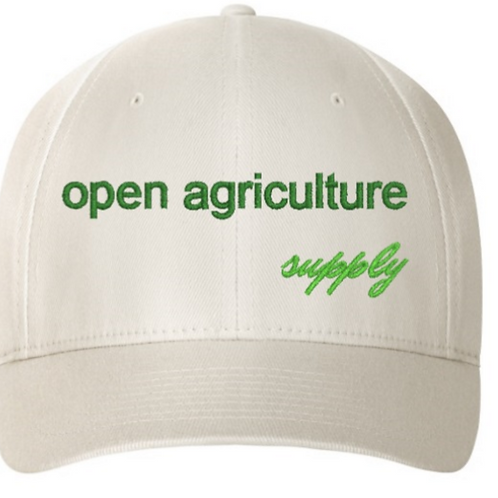 Open Agriculture Supply Fitted Hat