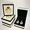 Thumbnail: Sterling Silver & 24 carat gold foil backed Amethyst Earrings