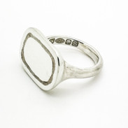 Sterling Silver Signet Ring - Richard F Burns Jewellery