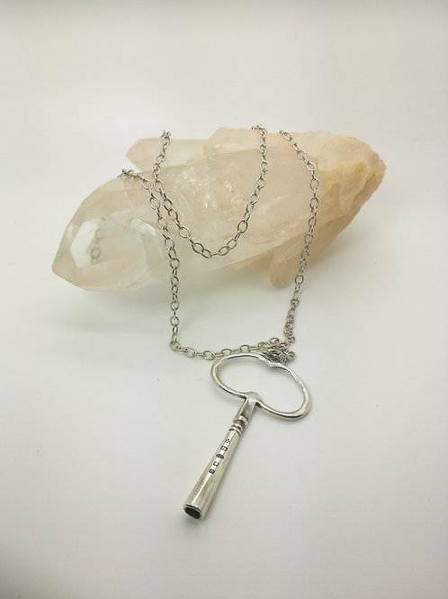 Sterling Silver Clock Key