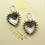Thumbnail: Sterling Silver Heart Earrings