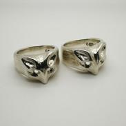 Fox Ring - Richard F Burns Jewellery
