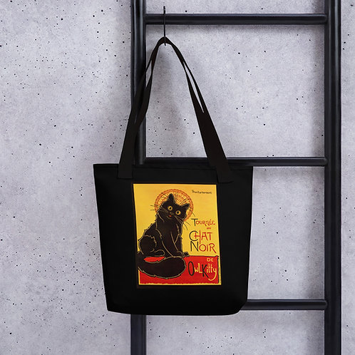 OwlKitty Chat Noir Tote bag