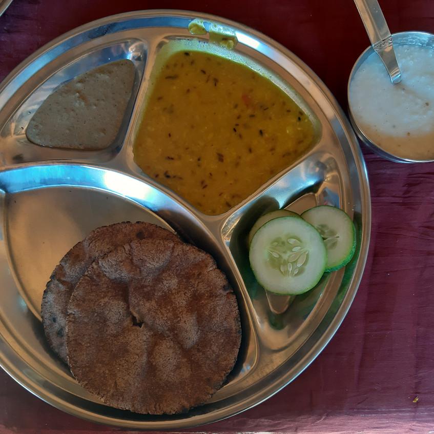 breakfast thali Manda