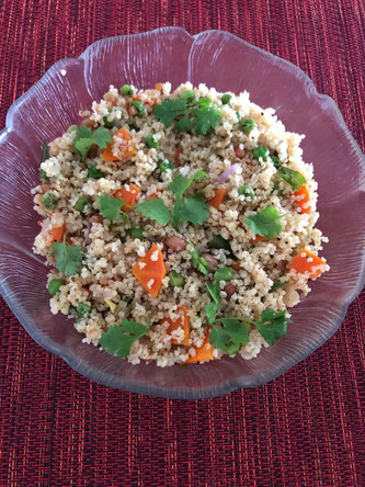 RECIPE: Barnyard Millet (Jhangora) Upma