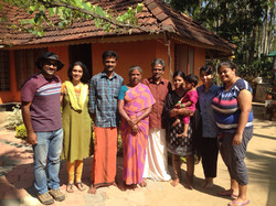 OBW team with Nambiar family