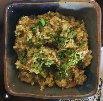 RECIPE: Barnyard Millet (Jhangora) Khichdi