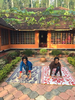 Time for yoga at Wayanad