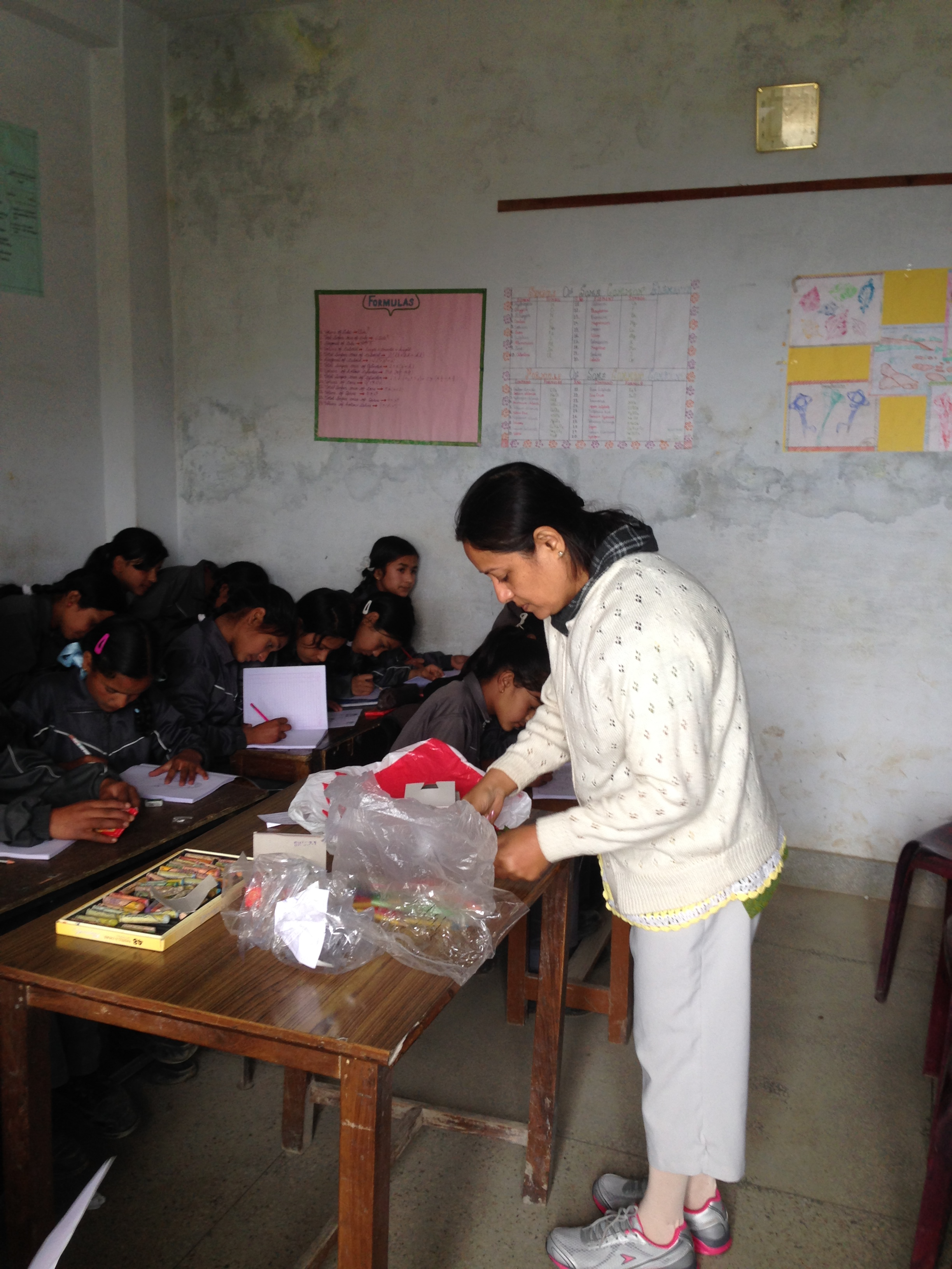 Art Class in Garhwal