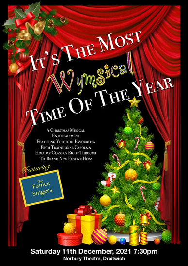 'A Wymsical Christmas' It's the most Wymsical time of the year! Sat 11th December @ 7:30pm