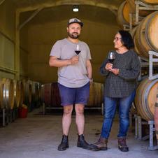 Shashi and Rohit of Avani Wines