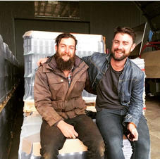 Lawrence and Tim of Dirty Black Denim