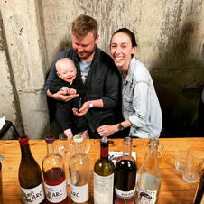Jess and James of A.R.C Wines