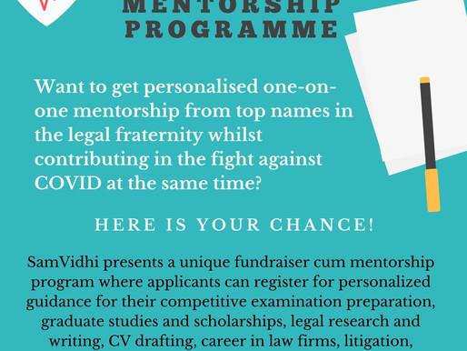 The SamVidhi Fundraiser & Mentorship Programme