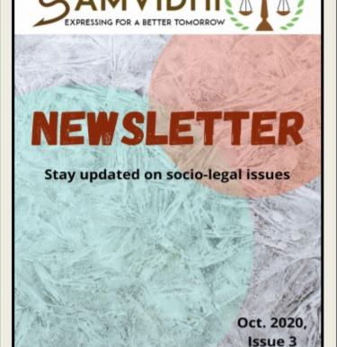 SamVidhi Newsletter: October 2020, Issue 3