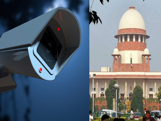 Installation of CCTV cameras at CBI, NIA, etc.