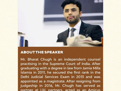 Open Session with Mr. Bharat Chugh