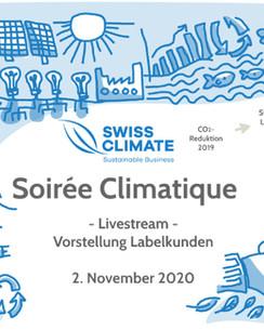 Swiss Climate - Soirée climatique 2020 - Presentation of clients with labels