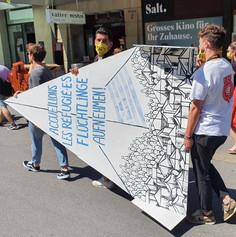 Amnesty Paper plane