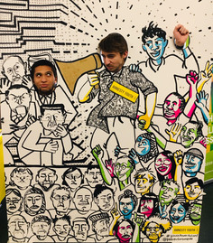 Amnesty Youth: Face Board