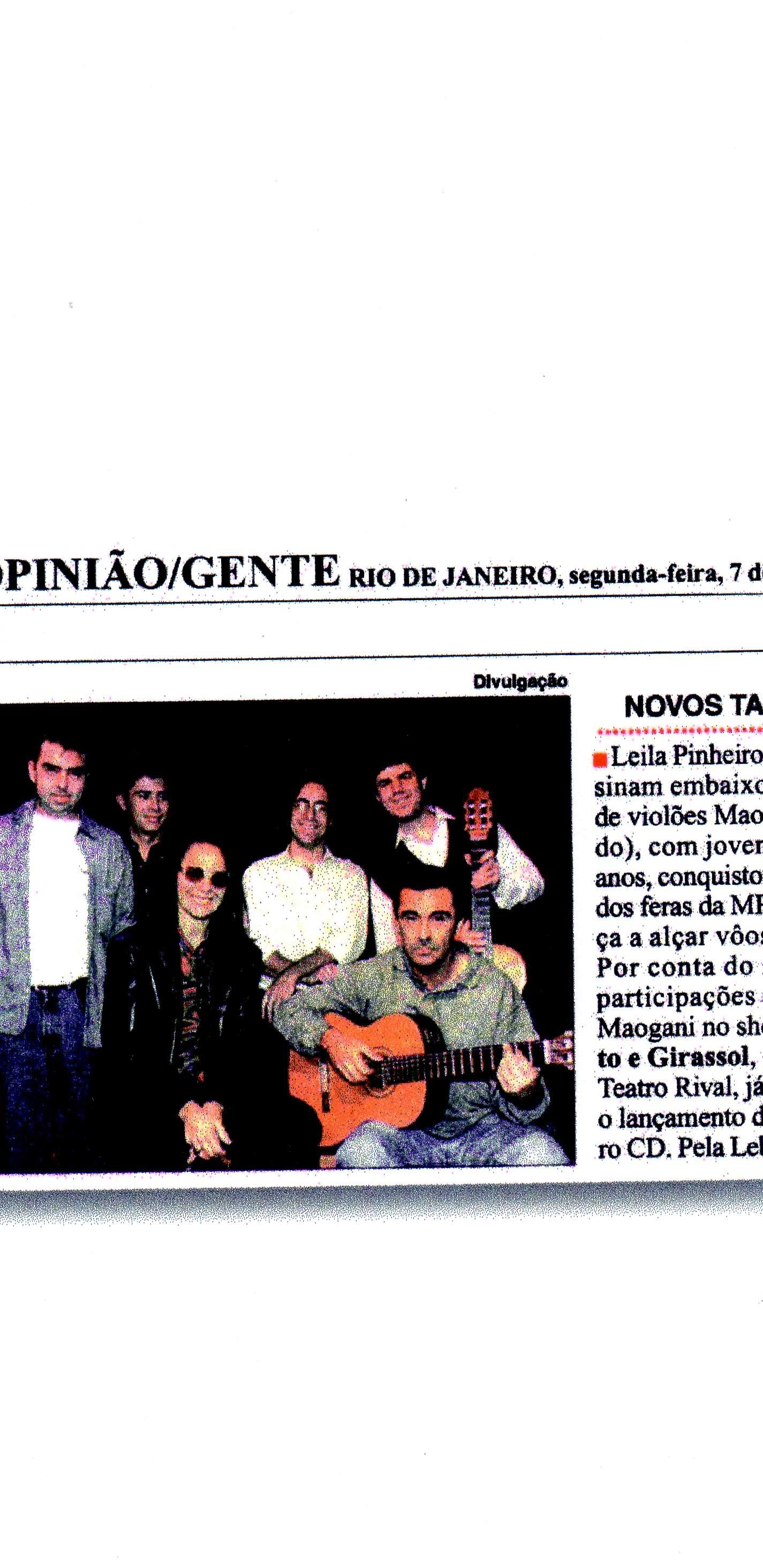 Matéria Leila Pinheiro