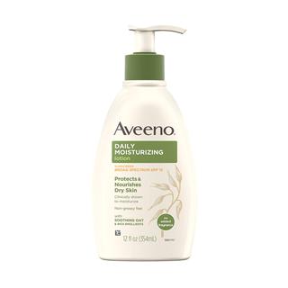 Aveeno daily moisturizing lotion with SPF