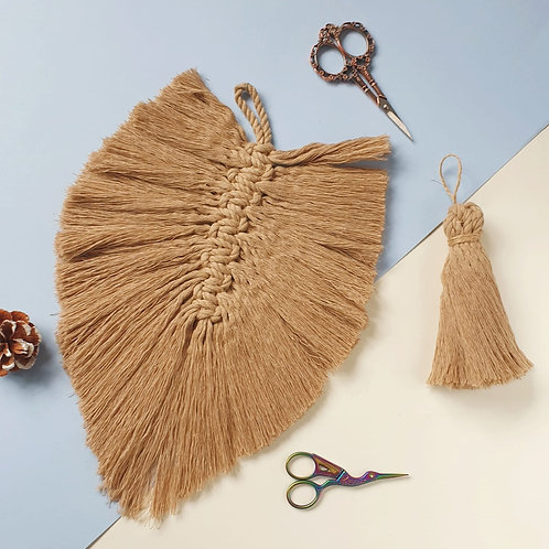 Set of Sand Feather and Tassel