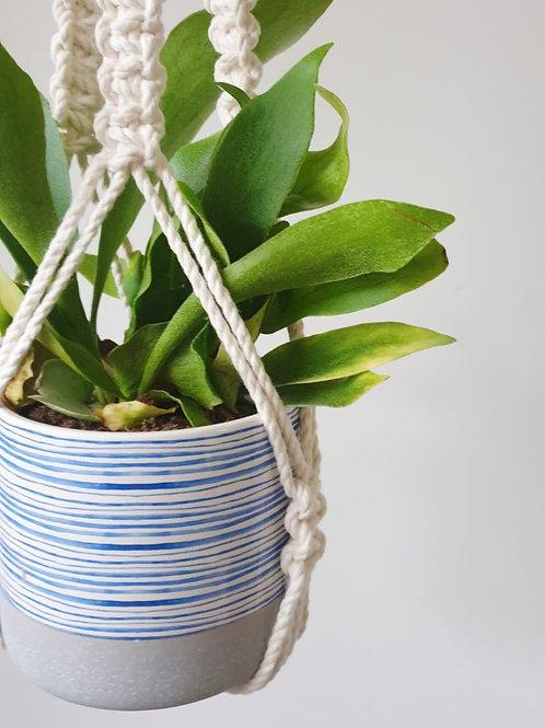 Iris Plant Hanger (Fringeless)