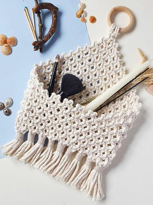 Macrame Handmade Pocket