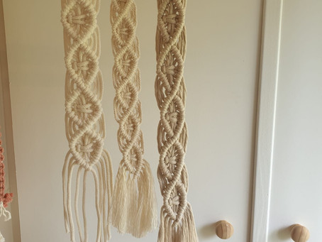 Macrame is all about the cords.