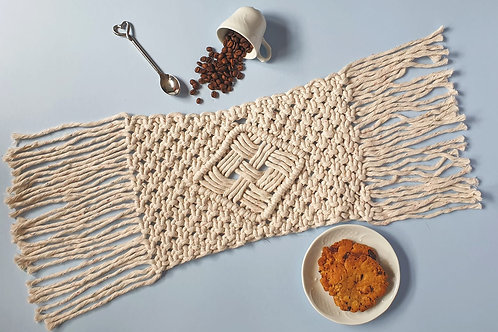Recycled Cotton Table Runner