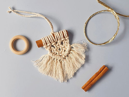 DIY KIT Macrame Christmas Decorations