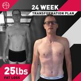 10. STEVE BRITNELL - 24 Weeks - 25lb Fat