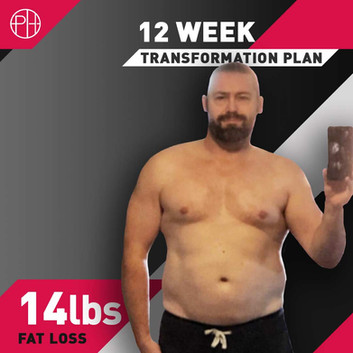 23. JAMES HARRISON - 14lbs FAT LOSS - 12