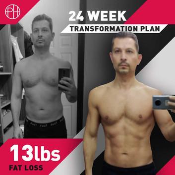 20. Tansel Turk - 24 Weeks - 13lb Fat Lo