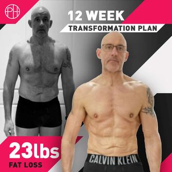 27. Julian Thompson 12 Weeks 23lbs Fat l